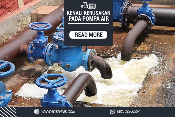 kerusakan pada pompa air listrik