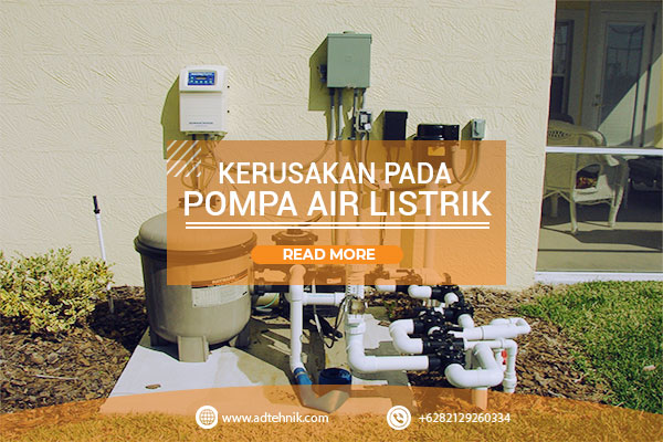 Service Pompa Air Antapani