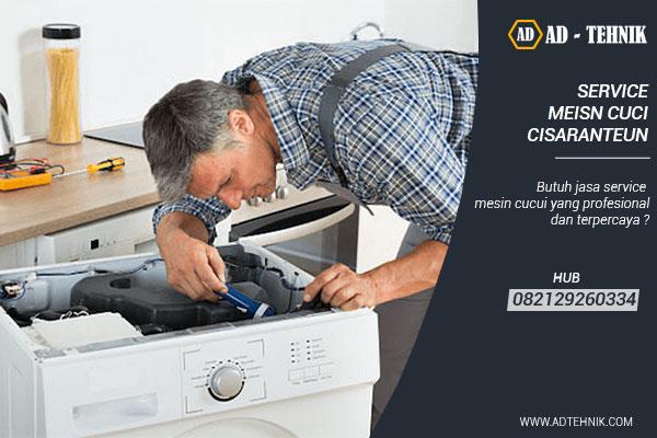 service mesin cuci cisaranteun