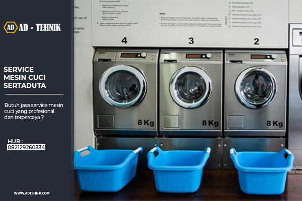 srevice mesin cuci sertaduta
