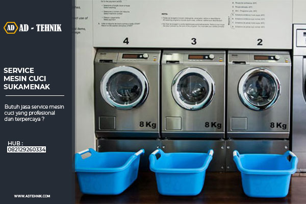 service mesin cuci sukamenak