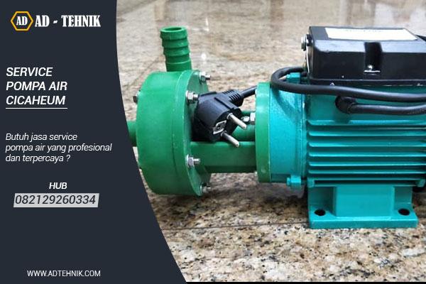 service pompa air cicaheum