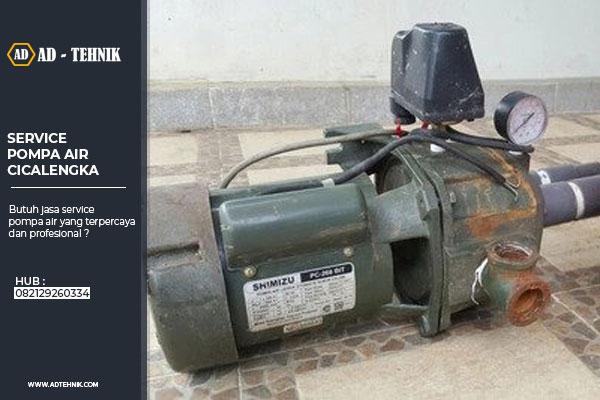 service pompa air cicalengka