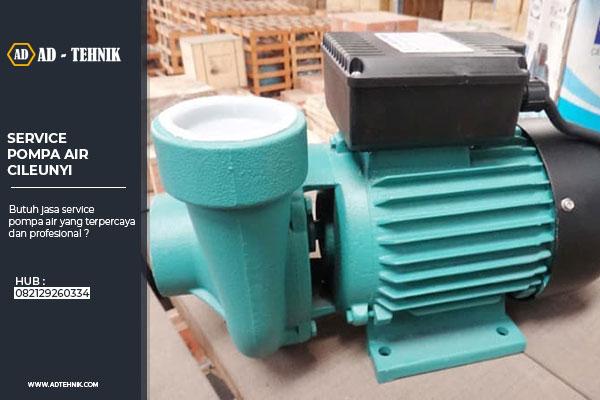 service pompa air cileunyi