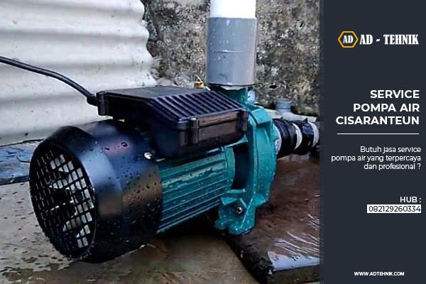 service pompa air cisaranteun