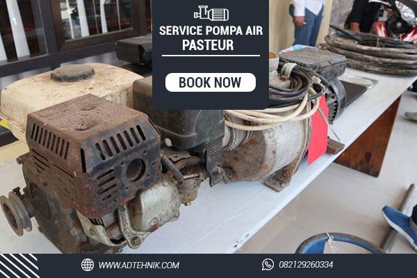 service pompa air pasteur