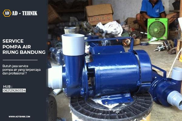 service pompa air riung bandung