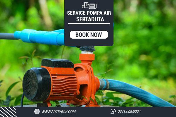 service pompa air sertaduta