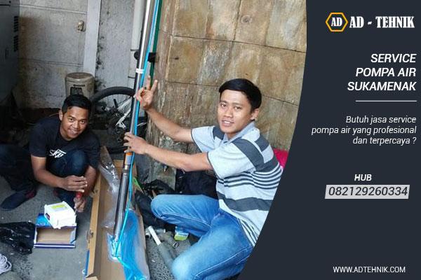 service pompa air sukamenak