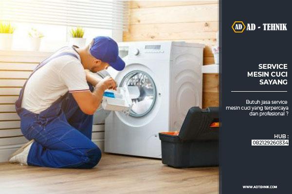 service mesin cuci sayang