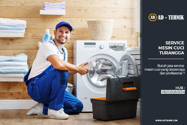 service mesin cuci turangga