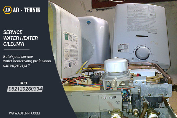 service water heater cileunyi