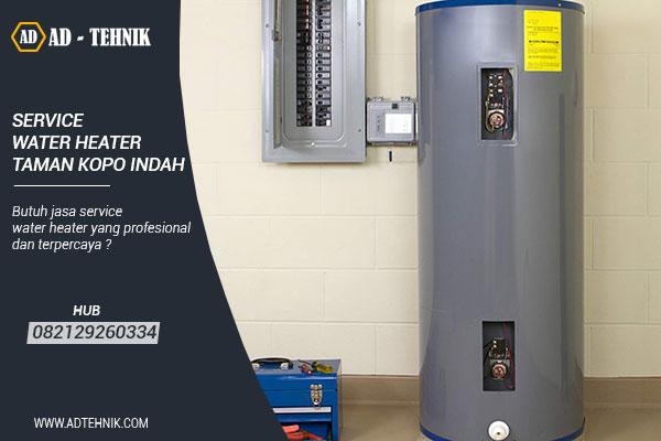 service water heater taman kopo indah